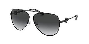 Michael Kors MK1066B SALINA Shiny Black Lentes Dark Grey Gradient