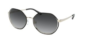 Michael Kors MK1072 PORTO Light Gold Lentes Dark Grey Gradient