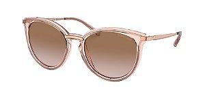 Michael Kors MK1077 BRISBANE Rose Gold/Camila Rose Transpar Lentes Brown Pink Gradient