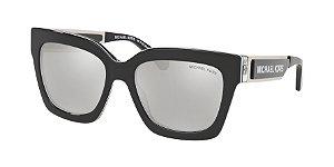 Michael Kors MK2102 BERKSHIRES Black Sport Laminate Lentes Light Silver Mirror
