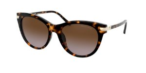 Michael Kors MK2112U BAR HARBOR Dk Tort Lentes Brown Gradient