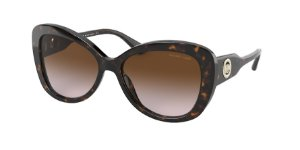 Michael Kors MK2120 POSITANO Dark Tort Lentes Brown Gradient