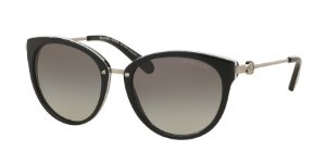 Michael Kors MK6040 ABELA III Black/White Lentes Grey Gradient