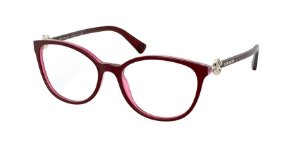 Bvlgari BV4185B Top Bordeaux On Transp Red