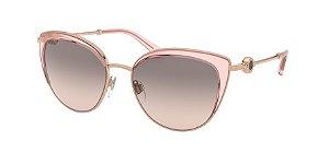 Bvlgari BV6133 Pink Gold/Transparent Pink Lentes Pink Gradient Grey