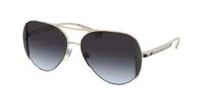 Bvlgari BV6142 Pale Gold Lentes Grey Gradient