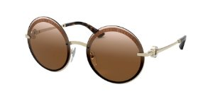 Bvlgari BV6149B Pale Gold Lentes Brown Gradient