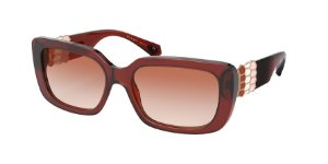 Bvlgari BV8223B Transparent Brown Lentes Pink Gradient