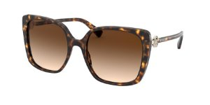 Bvlgari BV8225B Dark Havana Lentes Brown Gradient