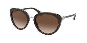 Bvlgari BV8226B Dark Havana Lentes Brown Gradient