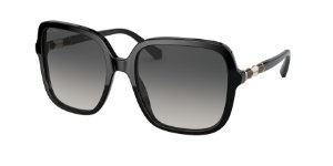 Bvlgari BV8228B Black Lentes Polar Grey Gradient