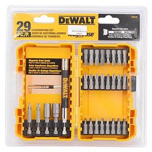 Jogo de pontas para parafusar com 29 peças DW2162 - DeWALT