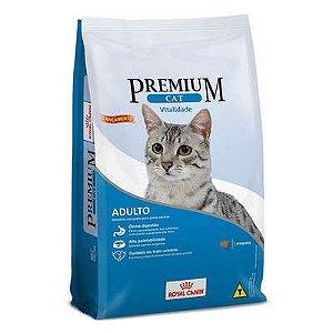 Ração Royal Canin Premium Cat Adultos Vitalidade 1kg