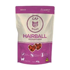 Snacks para gatos Cat Menu Hairball (anti bolas de pelo)