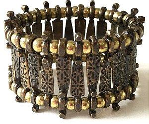 Bracelete marrakech ouro velho