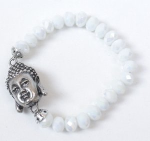 Pulseira de pedras com Buda