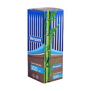 Palito de bambu c/100un. - Bompack