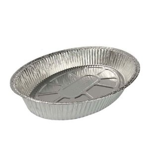 Assadeira Oval de Alumínio - 4 litros - Bompack