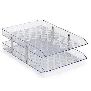 Caixa Correspondência Dripla - Cristal - Waleu