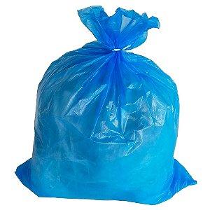 Saco Plástico para Lixo - 240L - Com 50 unid. - Extra Pesado - Cor Azul - Nobre