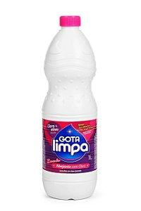 Alvejante com Cloro Ativo - Lavanda -  1L - Gota Limpa