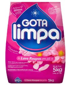 Lava Roupas em Pó - Harmonia - 5Kg - Gota Limpa