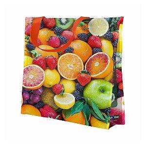 Sacola Reutilizável Ecobag - Frutas Cítricas - Bompack