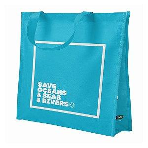 Sacola Reutilizável Ecobag - Salve os Mares - Bompack
