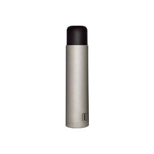 Garrafa Térmica - 1 litro - Inox Cinza - Mor