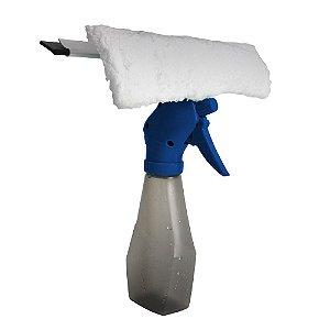 Limpador de vidros com gatilho e reservatório spray - nobre