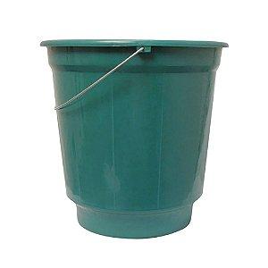 Balde plástico 10 litros com alça de ferro  - Arqplast