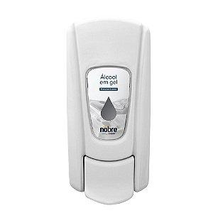 Dispenser para Álcool Gel - Sem Reservatório  - Branco - Linha City - Nobre