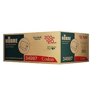 Papel Toalha Bobina - CONFORT -  0,20x200m - Nobre