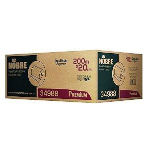 Papel Toalha Bobina - PREMIUM -  0,20x200m - Nobre