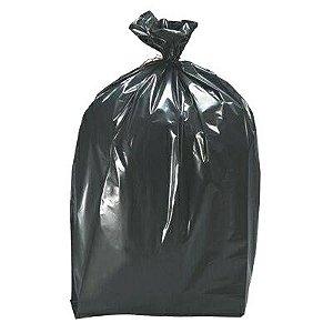 Saco plástico para Lixo - 150L - 100unid  - Cor Preto - Nobre
