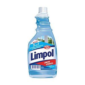 Limpa vidros 3 em 1 refil 500ml - LIMPOL