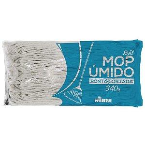 Mop úmido ponta cortada - refil 340g - NOBRE