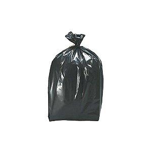 Saco plástico para lixo preto lixo leve 20L - 40X50cm - 100 unidades - NOBRE