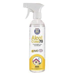 Spray Higienizador Antisséptico - Alcat Casa 70 - 500ml - Catmypet