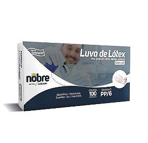 Luva de Látex para Proteção Contra Agentes Químicos com Pó - Nobre  *LIMITE DE 30 CAIXAS POR PEDIDO