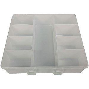 Caixa Organizadora com 9 divisórias - Plasútil