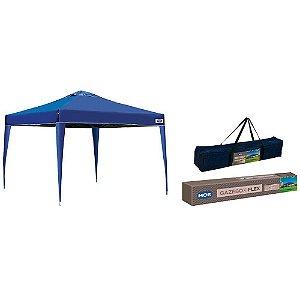 Gazebo X - Flex Oxford - Azul - 3X3m - MOR