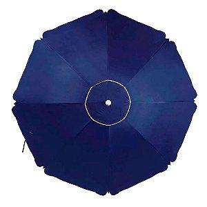 Guarda Sol  - Alumínio - Azul - 2,60m - MOR