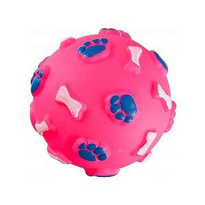 Acessório Brinquedo p/ Animais - Bola - Cores Variadas