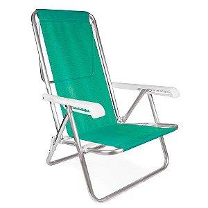 Cadeira de Praia Reclinável - Turquesa - Mor