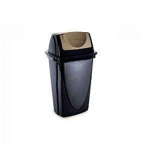 Lixeira Basculante - Ecoblack - 9L - Plasutil