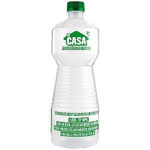 Álcool Líquido 70% - 1 Litro - Da Casa