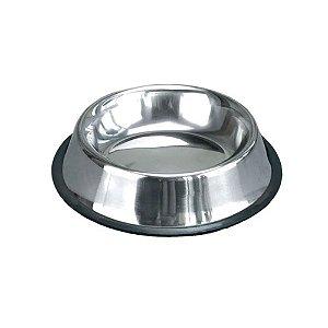 Comedouro para Pets - Aço Inoxidável - 18cm - Meu Pet
