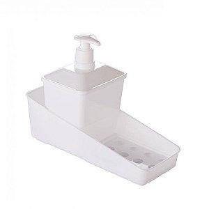 Conjunto Porta Detergente - Branco - Plasútil