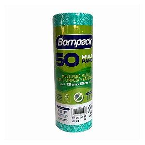 Pano Multiuso Slim - Verde- 28cm x 50cm - Bompack